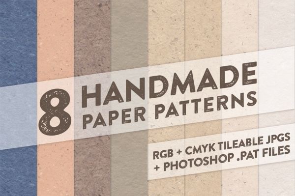 8 Handmade Paper Patterns