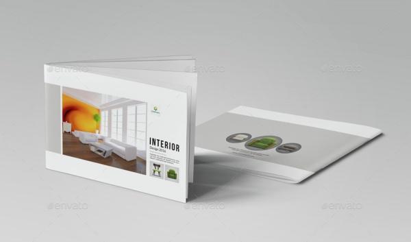 A4 Horizontal Portfolio Brochure