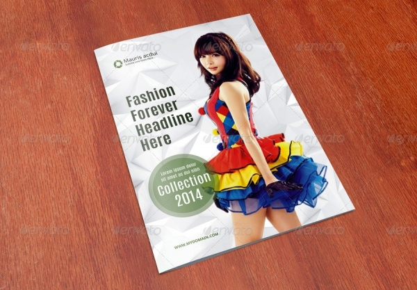 A4 Modern Fashion Brochure