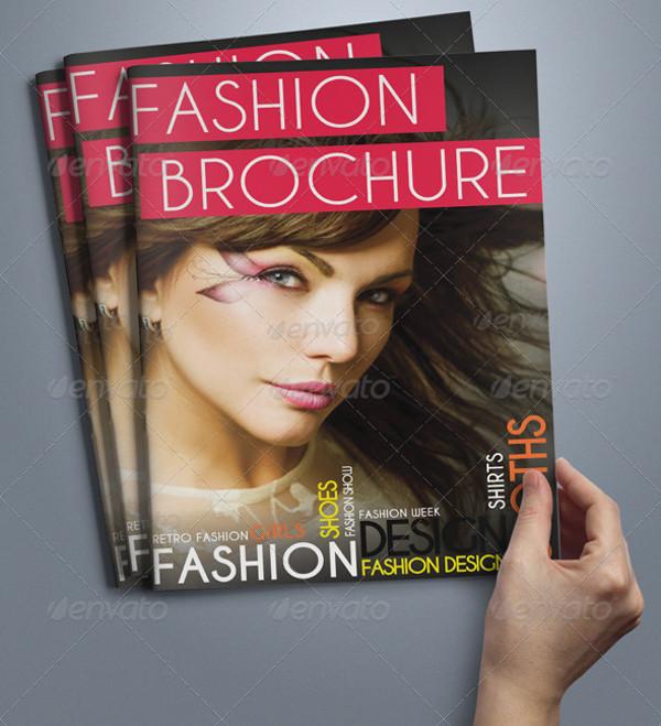 A5 Bi-fold Fashion Brochure