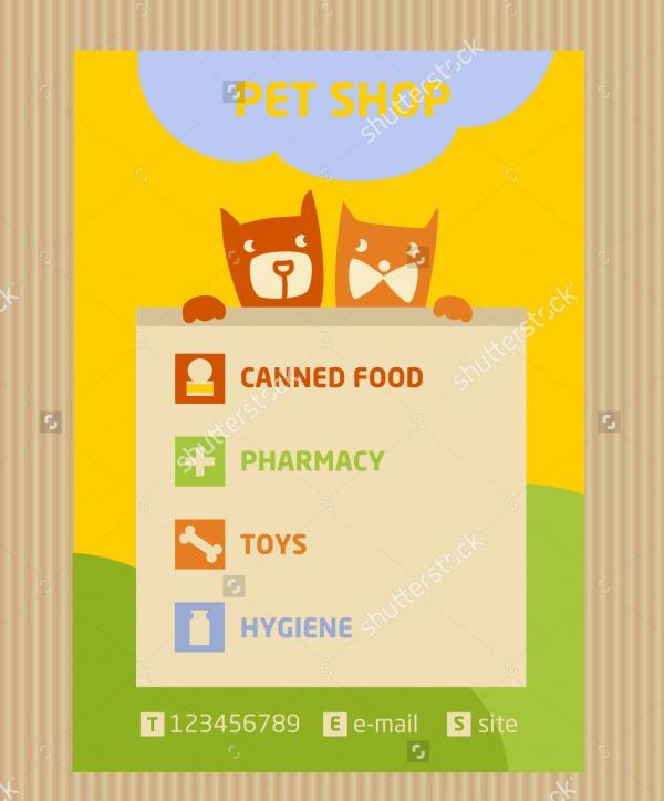 A5 Design Pet Brochure Template