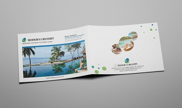 A5 Moderna Resort Brochure