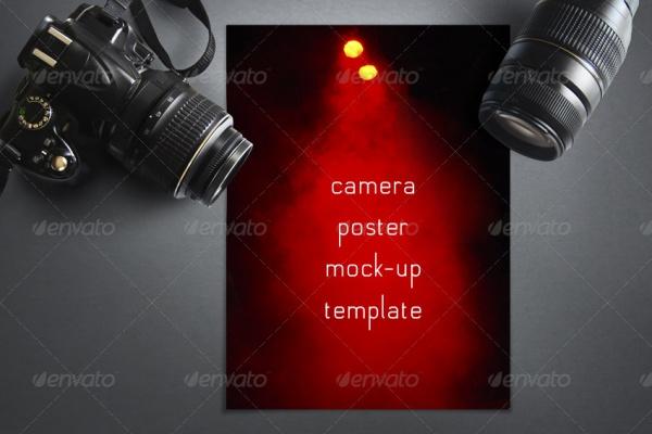 Abstract Camera Poster Mock-up