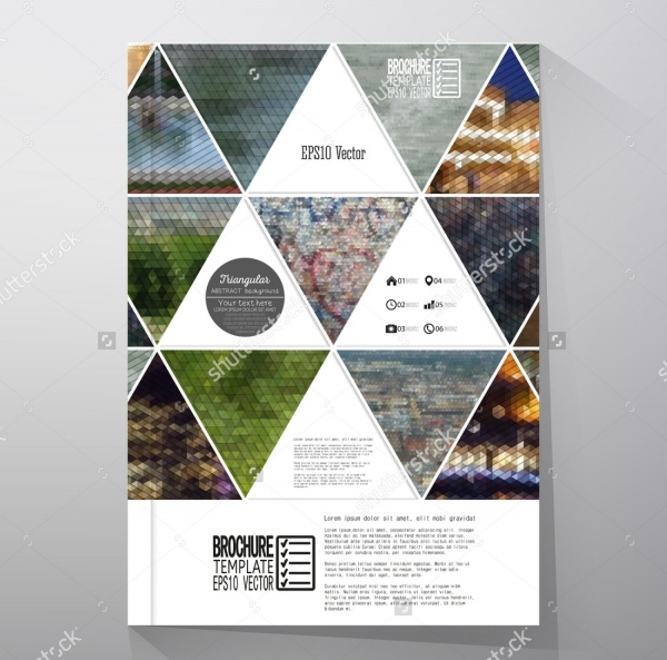 Abstract Geometric Corporate Flyer