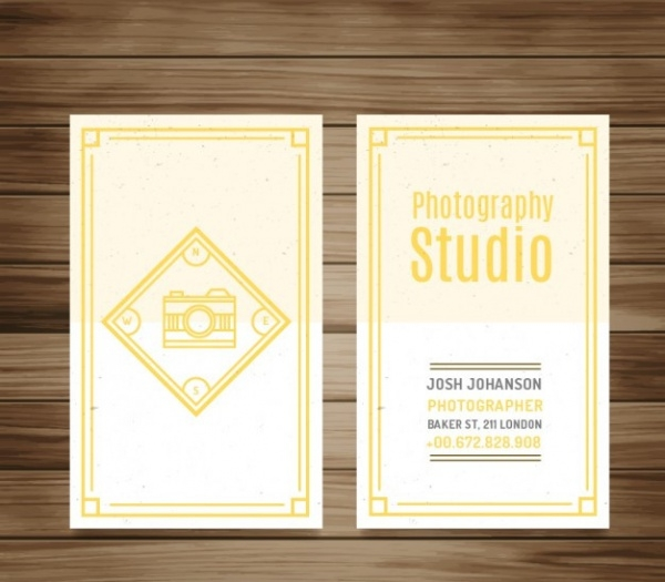 Abstract Vintage Photography Flyer