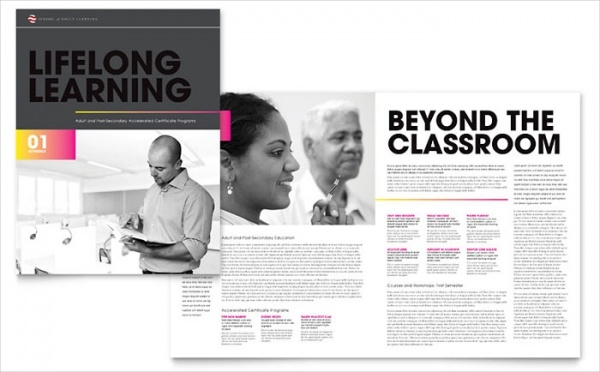 Adult Education & Business School Brochure