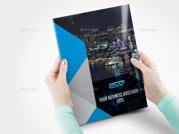 Advertising Bi-fold Company Brochure
