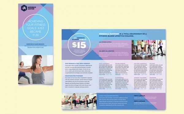 Aerobics Center Brochure