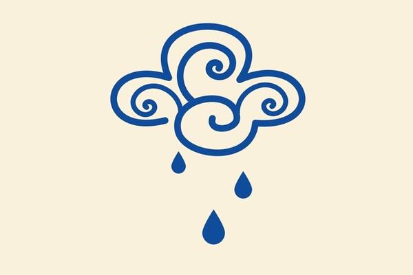 Amazing Rain Symbol Vector