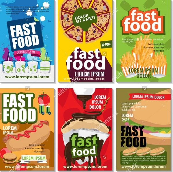 Amazing Retro Food Flyer