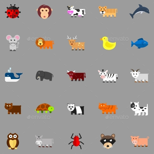 Anime Animals Icons