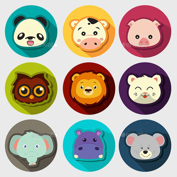 Anime Pig Sticker icons