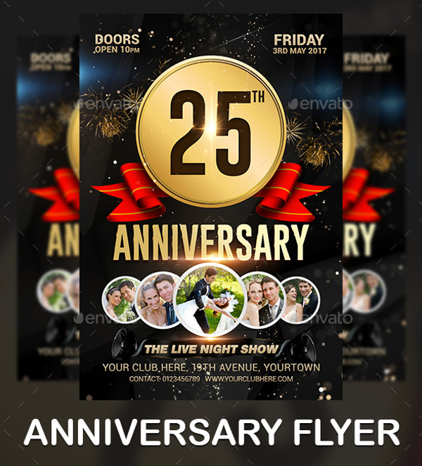 25+ Anniversary Flyer Templates - PSD, Vector EPS, JPG Download ...