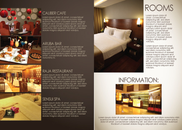 hotel brochure templates free download 19 hotel brochure design freecreatives