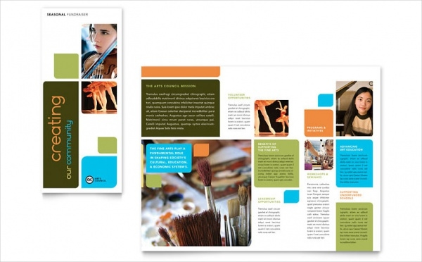 Arts Council & Education Brochure