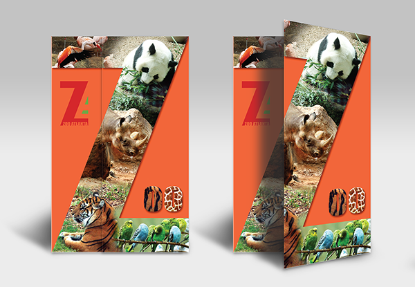 Atlanta Zoo Trifold Brochure