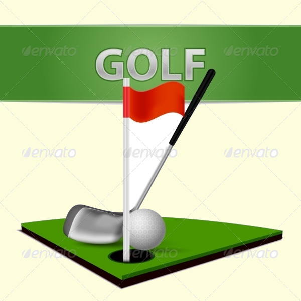 Awesome Golf Club Vector