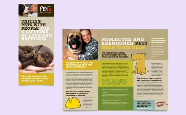 Awesome Pet Brochure Template
