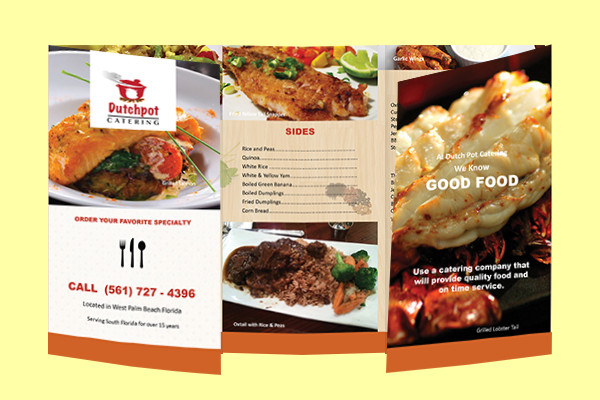Awesome Restaurant Brochure Design