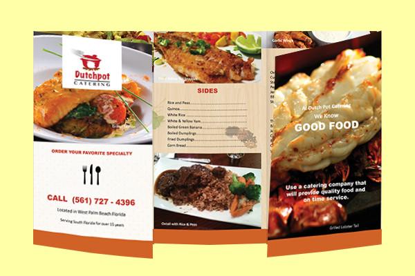 Awesome Restaurant Brochure Design