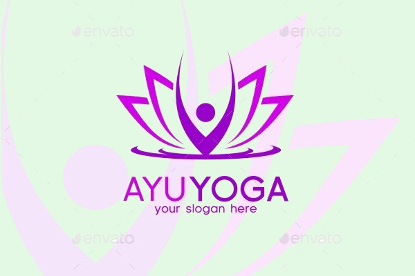 Ayu Beauty Yoga Logo