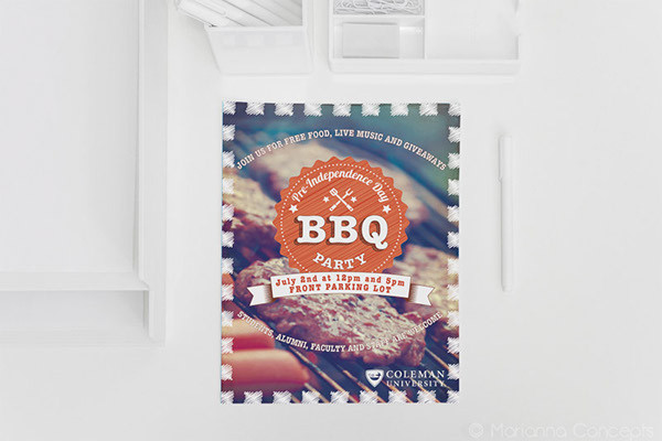 BBQ Event Promotion Flyer