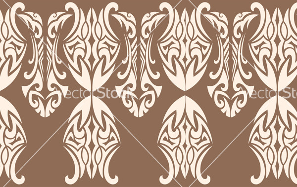 Back Gothic pattern vector