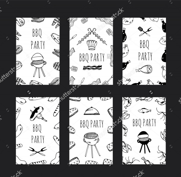 Barbecue party invitation Brochure