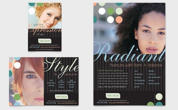 Beauty & Hair Salon Flyer & Ad