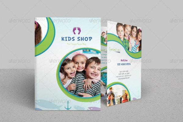 Bi Fold Kindergarten Brochure
