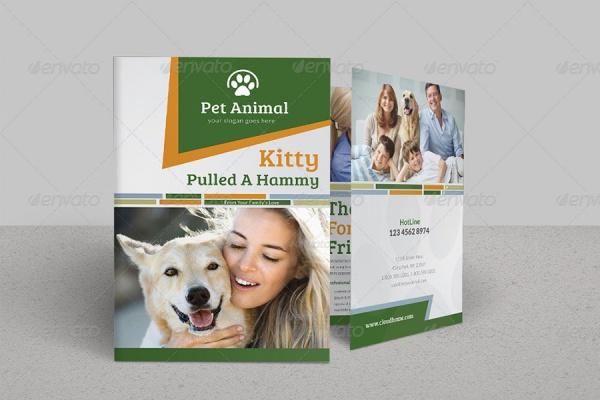 Bi Fold Pet Brochure Design