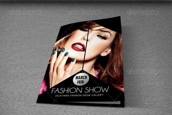 Bi-fold Fashion Brochure