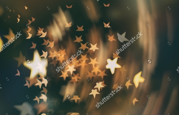 Bokeh Lights and Stars Texture