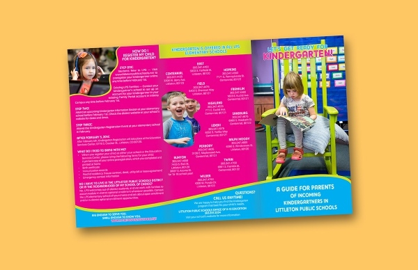 Branded Design Kids Education Brochure