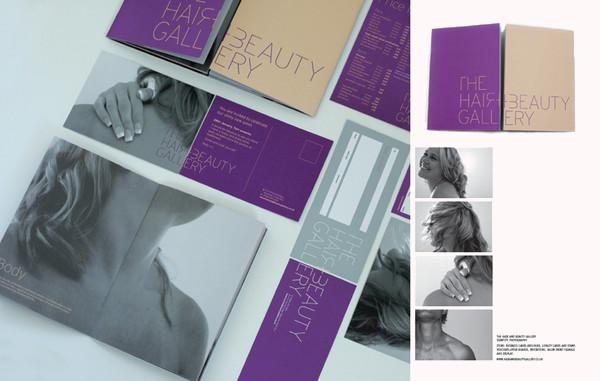 Branding Hair Salon BrochureDesign