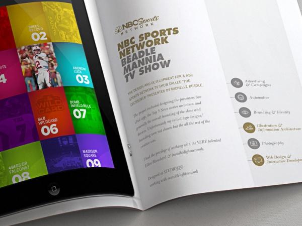 Bristol Portfolio Layout Brochure