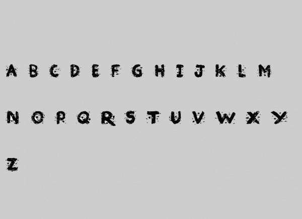 Broken Ink Bold Font