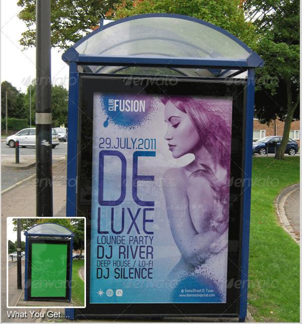 bus shelter poster mockup1