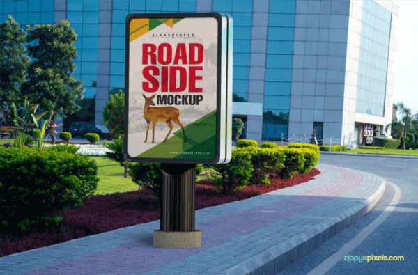 bus stop roadside mockups1