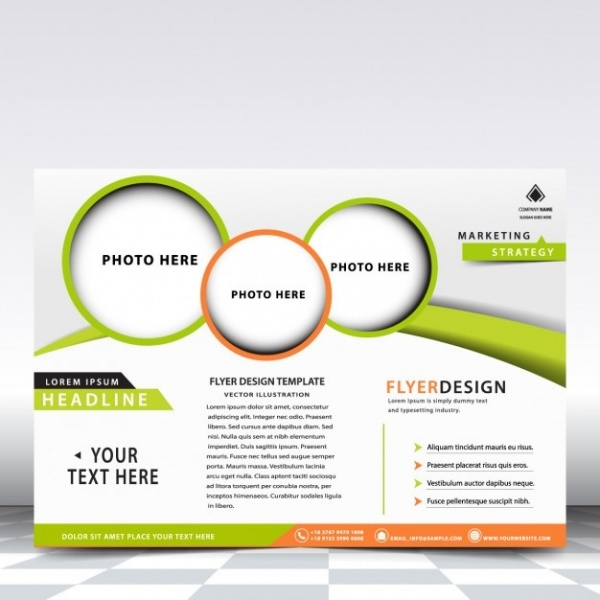 Business Advertising Flyer Design