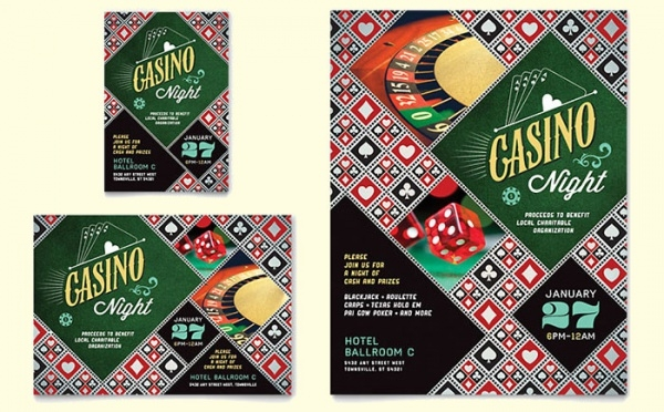 22 casino flyer templates psd vector eps jpg download freecreatives. Black Bedroom Furniture Sets. Home Design Ideas