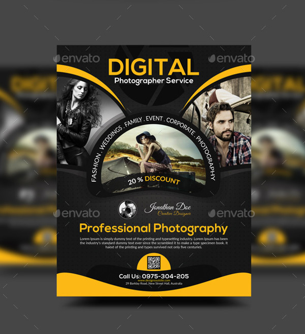 Client Flyer for a Photography Company designed by me at ... |Photography Business Flyer Ideas