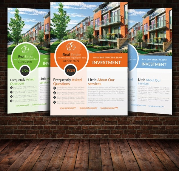 Flyer Templates Real Estate  CityEsporaCo