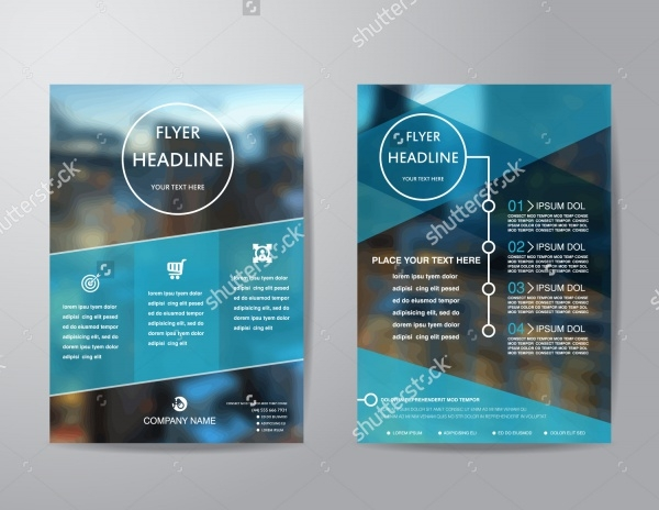 Corporate Business Brochure Flyer Design