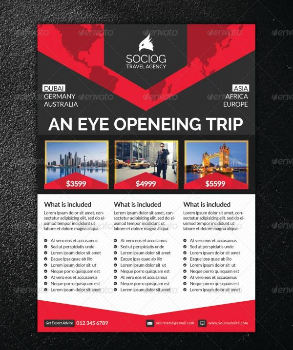 Corporate Creative Travel Flyer
