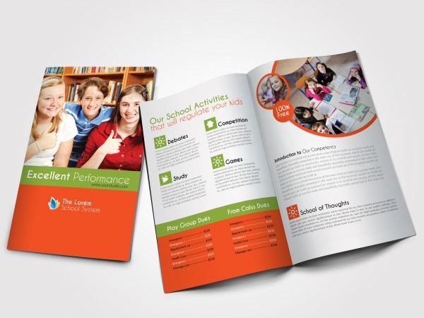 Corporate Education Promotion Brochure