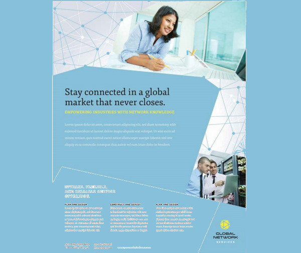 Corporate Global Network Services Flyer