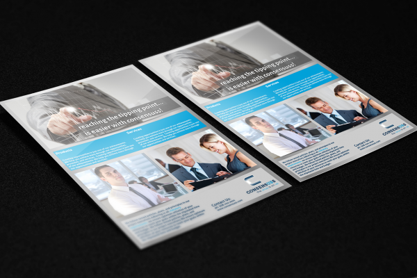 Corporate Identity Card Flyer