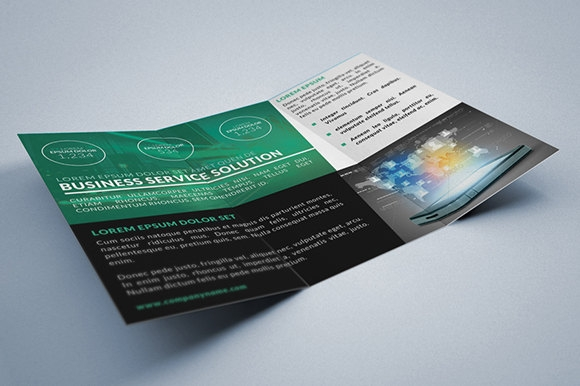 Corporate Multipurpose Trifold Brochure