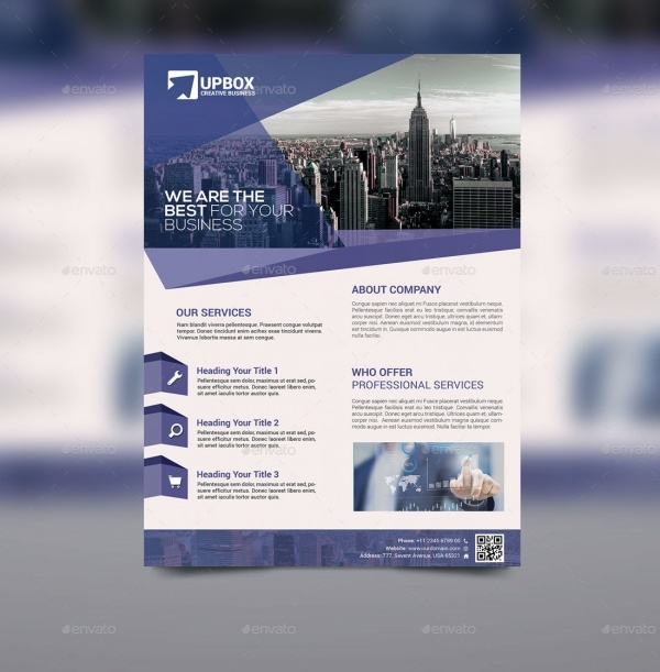 Corporate Photoshop PSD Flyer